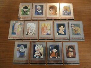 Lot DRAGON BALL Z - Platina Card PC (Hero Collection) Set 13/16 Part.4 - Japan