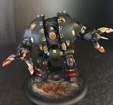 Warhammer 40k Black Legion Leviathan Dreadnought COMMISSION Chaos Space Marines