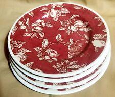 Waverly Garden Room China FRUIT TOILE Salad Plates - Set of Four
