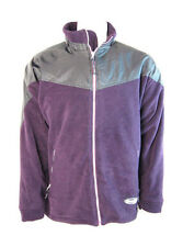 Hodge Heg Bierd Mens Fleece Jacket Coat (Plum) - L