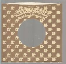 Company Sleeve 45 CASABLANCA Brown w/ Tan Camel to Camera Pattern on