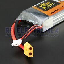 ZOP Power 11.1V 2800mAh 3S 60C Lipo Battery XT60 Plug