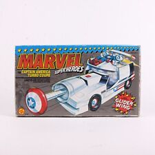 1990 Captain America Turbo Coupe Marvel Super Heroes Vintage Vehicle by Toy Biz