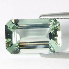 4.00Cts Genuine Natural Green Beryl Emerald Cut 13x8mm Loose Gemstone REF VDO