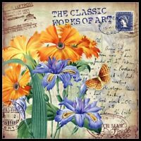 Classic Vintage Flower 3 - Counted Cross Stitch Patterns Chart Needlework