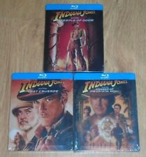 Indiana Jones Bundle (blu-ray) Steelbook. NEW & SEALED (UK release)