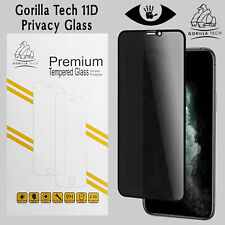 Gorilla Tech iPhone 11 6.1 Privacy Glass Screen Protector 11D Full Coverage