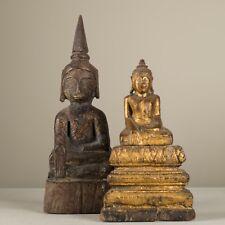 antique Burmese Shan . figure de Bouddha Birmanie