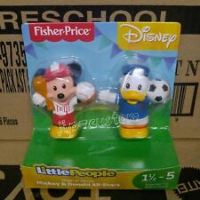Fisher-Price Little People Magic of Disney Mickey & Donald All -Stars