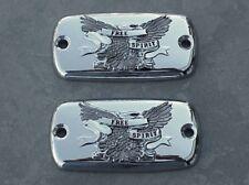 1996-2013 Yamaha Royal Star CHROME EAGLE FLUID CAPS
