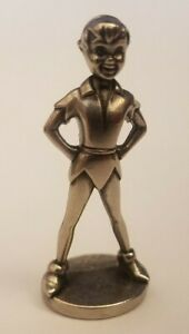 Disney Peter Pan Monopoly Replacement Mover Token Pawn Pewter Charm Mini Figure