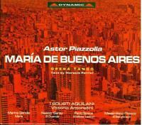 Piazzolla: Maria De Buenos Aires / Vittorio Abdulaziz, I Solistes Aquilani - CD