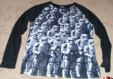 """Fifth Sun """"Stormtroopers"""" Mens Size (S) Long Sleeve Baseball Style T-Shirt! New"""