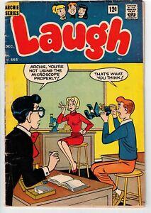 LAUGH COMICS #165 1964 DECARLO ART SILVER AGE!
