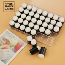 40x Fingerschwamm Schwämmchen Stempel Set für Malerei Zeichnung Handwerk Ink