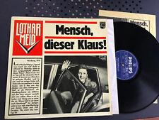 LP 1975 NM + POSTER  Lothar Meid – Mensch, dieser Klaus !