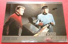 "STAR TREK TOS 50th Anniversary - MM3 ""MIRROR, MIRROR"" (uncut) - Foil Chase Card"