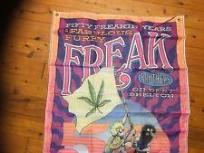 USA mr natural furry freak Man cave bar flag banner poster ratfink Harley Biker
