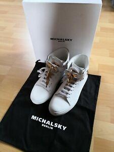 Damen Sneaker *MICHALSKY *Gr. 39 MONACO  weiss GOLD