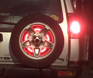 Land Rover Discovery 1 & 2 Spare Wheel Mounted Brake Light