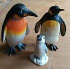 Collection/Bundle of Toys Penguins x 3 AAA Penguin Mother, Penguin and Baby
