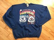 New York Yankees New York Mets 2000 Subway World Series Sweatshirt Men's XL MLB