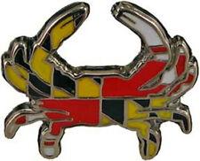 Pin hat pin Maryland Flag Crab Lapel