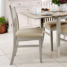 Florence High Back Upholstered Chair. Truffle Kitchen Dining Chair With Cream