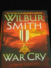 War Cry by Wilbur Smith and David Churchill (2017, Hardcover) - 3C
