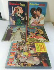 4 x Vintage 'Picture Show' movies/film annuals & Film Fun 1950s Collectable