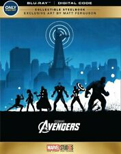 Marvel The Avengers Collectible Steelbook Edition (Blu-Ray) - VG