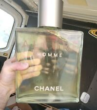 "Giant 13"" Chanel Allure HOMME Factice Dummy Store Display Perfume Bottle"