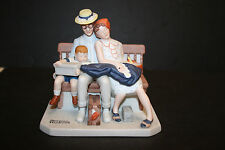 "The 12 Norman Rockwell Porcelain Figurines Series Ii ""Home from Vacation"""
