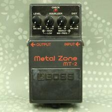 BOSS MT-2 Metal Zone Distortion Guitar effect pedal (G3A1203)