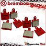 FRONT BRAKE PADS BREMBO SA RED SINTERED 07KA28SA KAWASAKI ZX-6R 600-NINJA 2007