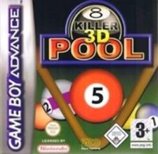 Killer 3D Pool pour Game Boy Advance