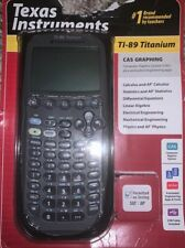 New in Box Titanium Texas Instruments Ti-89 Graphing Calculator