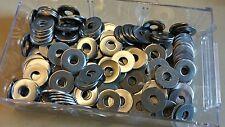 Rondelle plate inox A2 M6 épaisse large (6X18X1,5) Lot de 12 en  6 mm