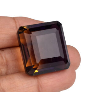 Dual Shaped 65.50 Ct Emerald Cut Ametrine Loose Gemstone For Jewelry V-4781