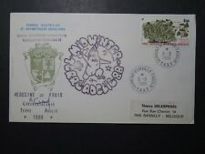 France TAAF 1988 Mid-Winter Terra Adelie Cover / Signed - Z11109