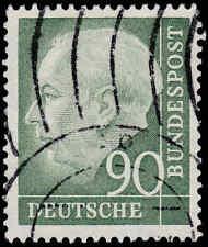 Scott # 718 - 1954 - ' Theodor Heuss '