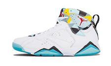 """Nike Air Jordan 7 VII """"N7"""" QS size 13. White Blue. 744804-144."""