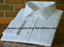 3 Custom Made to Measure Short & Long sleeve Business Formal Work Dress Shirts