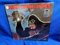 """King Kong Lives"" OST LP MCA MCA-6208 John Scott Sealed Mint 1986"