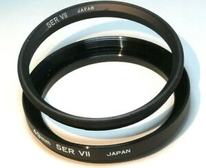 49mm to 54mm step up Adapter series 7 VII Filter Holder w/ retaining ring