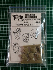 VERLINDEN 682 - GERMAN HEADS n°3 - 1/35 RESIN KIT