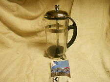 """LOOK"" KOVOCAS COFFEE OR TEA FRENCH PRESS W/ INSTRUCTIONS-FREE S/H"