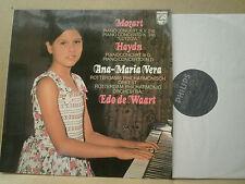 PHILIPS 6833 199 MOZART / HAYDN PIANO CONC. ANA-MARIA VERA / DE WART ROTTERDAM P