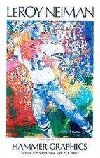 Roger Staubach by Leroy Neiman Art Print Original Poster Dallas Cowboys