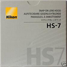 Nikon HS-7 Lens Hood for AI 58mm 1.2S AF 80mm f2.8 new AF 105mm F2.8 Macro Japan